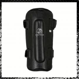 Krav Maga De Luxe Black Leather Shin Pads