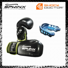 Promo Blackstorm Gloves 10oz + Paradenti Shock Doctor