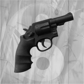 Revolver Realistico in Gomma