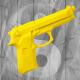 Pistola in Gomma Rigida Gialla