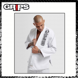 Grips The Italian Gi Blue Royal Uniforme Arti Marziali BJJ