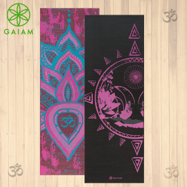 Gaiam Be Free Tappetino Yoga Premium Reversibile  6mm Pratica Yoga Asana
