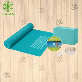 Gaiam Kiku Tappetino Yoga Premium Reversibile 6mm Pratica Yoga Asana