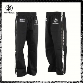 Krav Maga Pants with Camo Stripes Pantaloni Krav Maga Fight