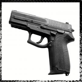 Pistola Realistica in Gomma Con Caricatore Estraibile Allenamento Arti Marziali Krav Maga