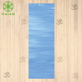 Gaiam Tappetino Yoga Reversibile 3 mm Navy/Pink Pratica Yoga Asana