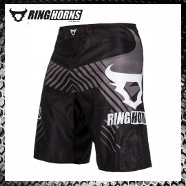 Ringhorns Charger Blak Fightshorts Pantaloncini MMA Combattimento Arti Marziali