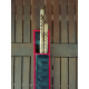 Set Borsa Escrima completa di 2 Bastoni Rattan Check Design Kali Arti Marziali