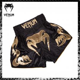 Venum Bangkok Inferno nero/oro Pantaloncini Muay Thai Kickboxing