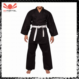 Karate Challenger Black Adult 14oz Uniforme Divisa Karate Arte Marziali