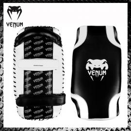 Venum Pao Giant Nero/Nero Colpitori Muay Thai Arti Marziali