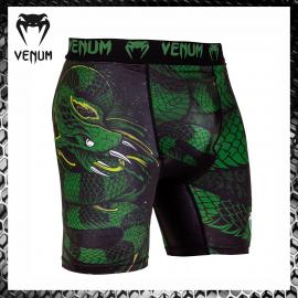 Venum Viking 2.0 Nero/Giallo Pantaloncini MMA Combattimento Arti Marziali