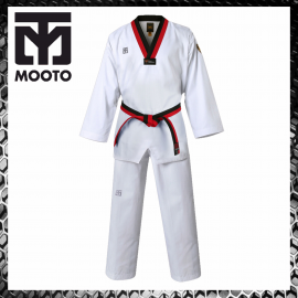 Mooto Extera S6 Black Neck Uniforme Arti Marziali Taekwondo