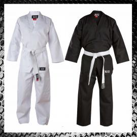 Uniforme Dobok Tae Kwon Do V-Neck Uniforme Arti Marziali Taekwondo