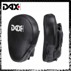 Dax Coaching Mitts Camber Pro Leather Guanti da Passata in Pelle Focus Pads Arti Marziali Boxe