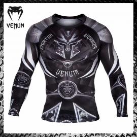 Venum Viking Rashguard Compression Manica Lunga Abbigliamento Arti Marziali MMA BJJ