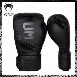 VENUM Challenger 3.0 Nero/Nero Guantoni Boxe Muay Thai Kickboxing