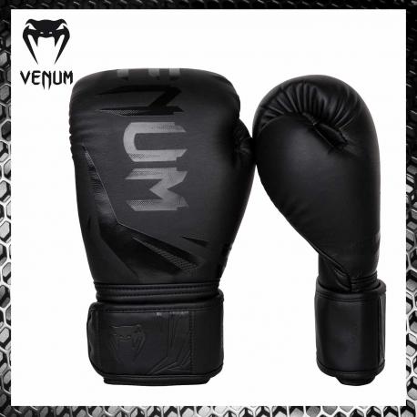 VENUM Challenger 3.0 Nero/Bianco Guantoni Boxe Muay Thai Kickboxing