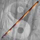 Bastone Rattan Spiral Carved De Luxe Da Allenamento  Kali Escrima Krav Maga