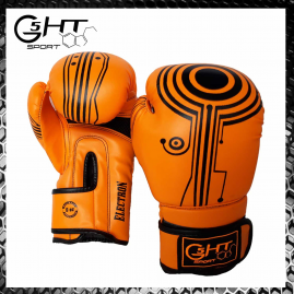 G5-HT Electron 8 once Arancio Guantoni Boxe Muay Thai Kickboxing