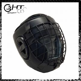 G5-HT Casco Boxe con griglia metallo removibile Sport da Combattimento