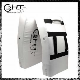 G5-HT Scudo Grande per Calci Bianco Colpitore Muay Thai Arti Marziali Karate Krav Maga