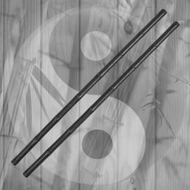Set Bastoni in Polipropilene Escrima Sticks Arti Marziali Allenamento