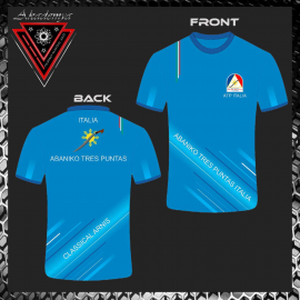 Akademya AKD1 Maglietta Tecnica Abbigliamento Scuola FMA
