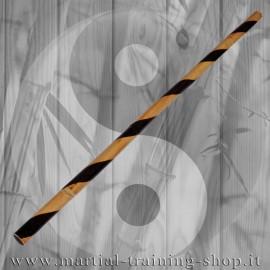 Bastone Rattan Hanbo Spiral 92cm Da Allenamento Kali Escrima Arti Marziali