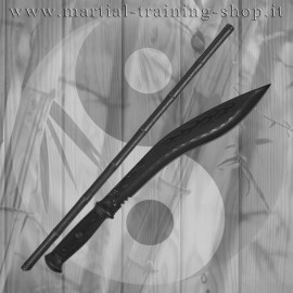 Set Bastone e Kukri in Polipropilene Escrima Sticks Arti Marziali Allenamento