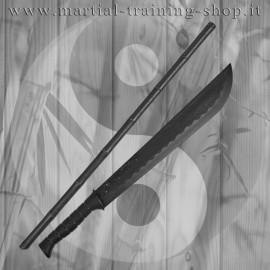 Set Bastone e Jungle Sword in Polipropilene Escrima Sticks Arti Marziali Allenamento
