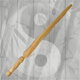 Spada da allenamento Kris in legno Molave Arti Marziali Krav Maga Difesa Personale