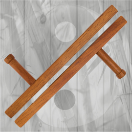 Wooden Red Oak Square Tonfa 20""