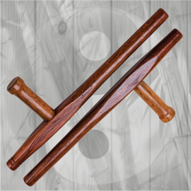 Wooden Red Oak Round Tonfa