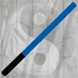 Bastone Imbottito in Neoprene Blu/Nero Kali Krav Maga Difesa Personale