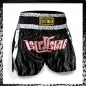 Ironitro Thai Shorts Black Nitro Pantaloncini Muay Thai Kickboxing