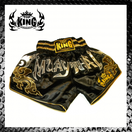 Top King Gold Flame Shorts